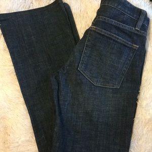 J Crew bootcut Jeans Size 26 r